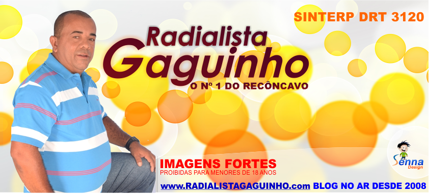 RADIALISTA GAGUINHO, PROFISSIONAL DESDE 1992 DRT.3120.