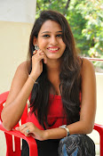 Swetha Jadhav glam pics in red top-thumbnail-5
