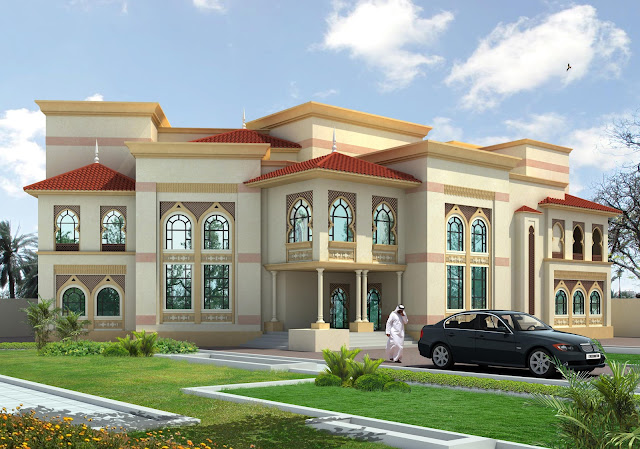 Front Elevation Villas : D front elevation oman
