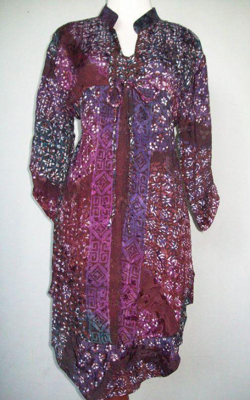 of Model Baju Batik Wanita Gemuk Info Terbaru 2011 2012 Pria Wanita