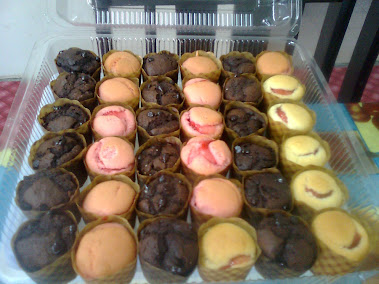 Muffin coklat & strwbrry