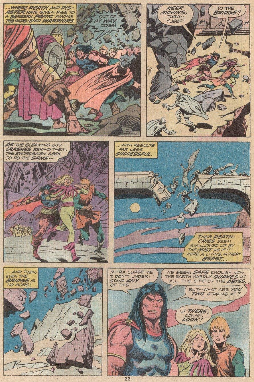 Conan the Barbarian (1970) Issue #56 #68 - English 18