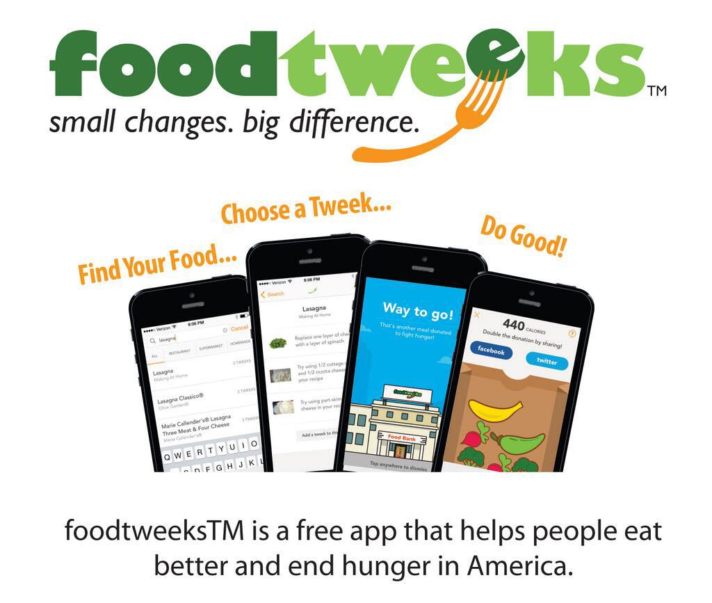 foodtweeks™ app logo