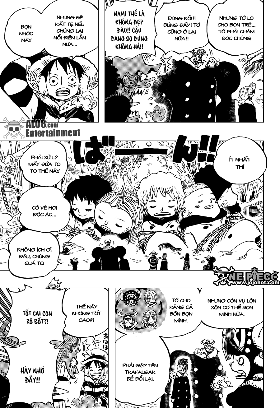 One Piece Chapter 665: Kẹo 015