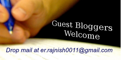 Welcome - Guest Bloggers