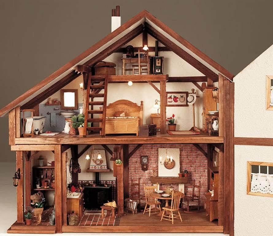 arte y arquitectura casas de mu ecas modernas