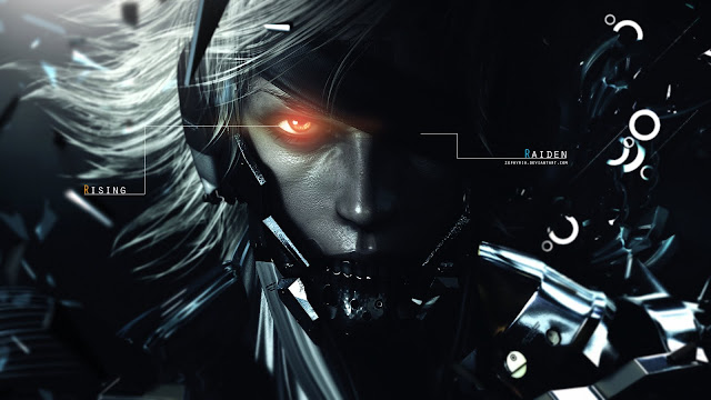 raiden metal gear solid rising