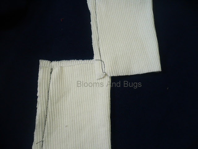 sewing cuffs on sleeves