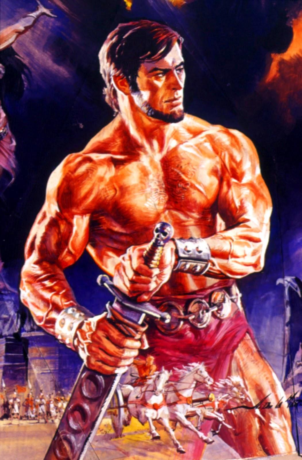 """Ilustraciones de """"Espada y Brujería"""" (NO Conan) Tapa-nippur"""