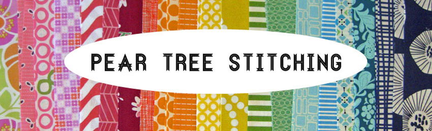 Pear Tree Stitching