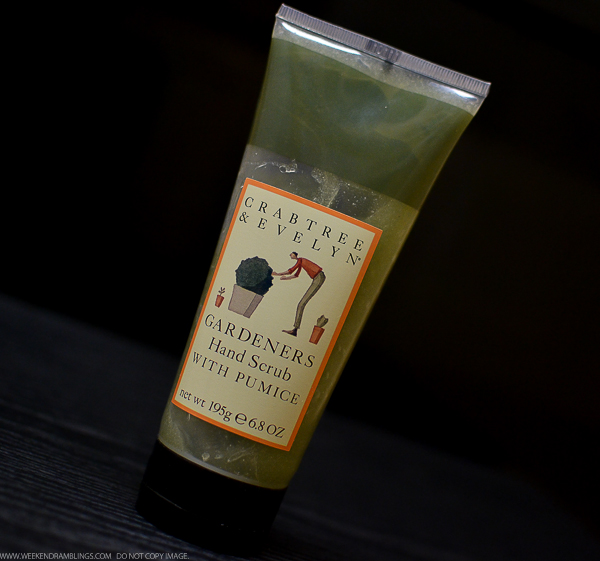 Weekend Ramblings Crabtree Evelyn Gardeners Hand Scrub With Pumice
