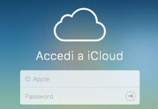 usare icloud foto su iPhone