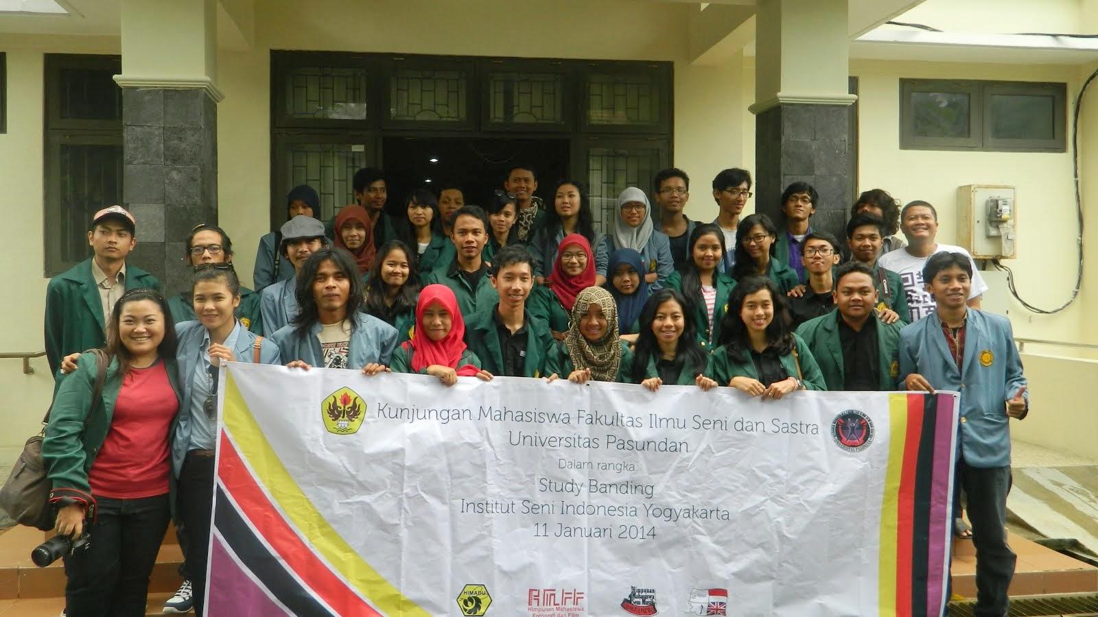Studi Banding FISS Unpas ke ISI Jogja, 2014