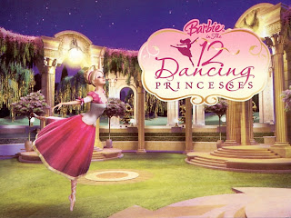Mewarnai Gambar Barbie And 12 Dancing Princesses