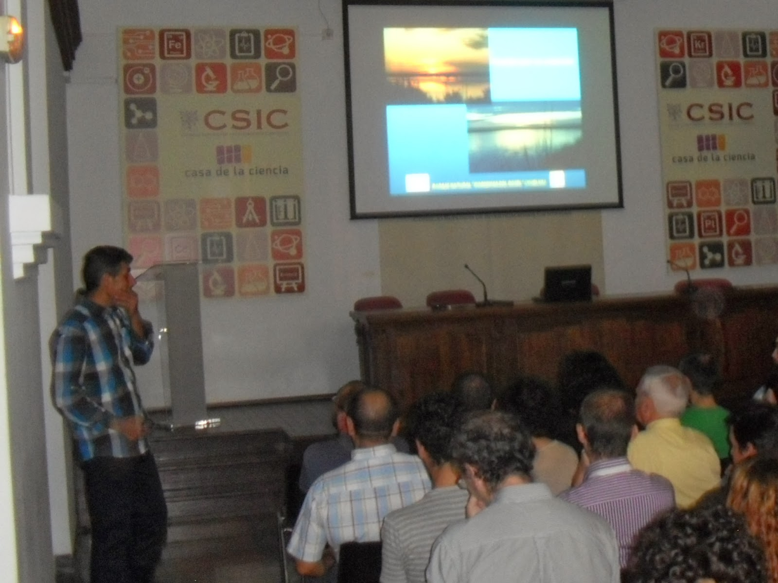 Conferencia Odiel Marismas de Vida SEO-Sevilla