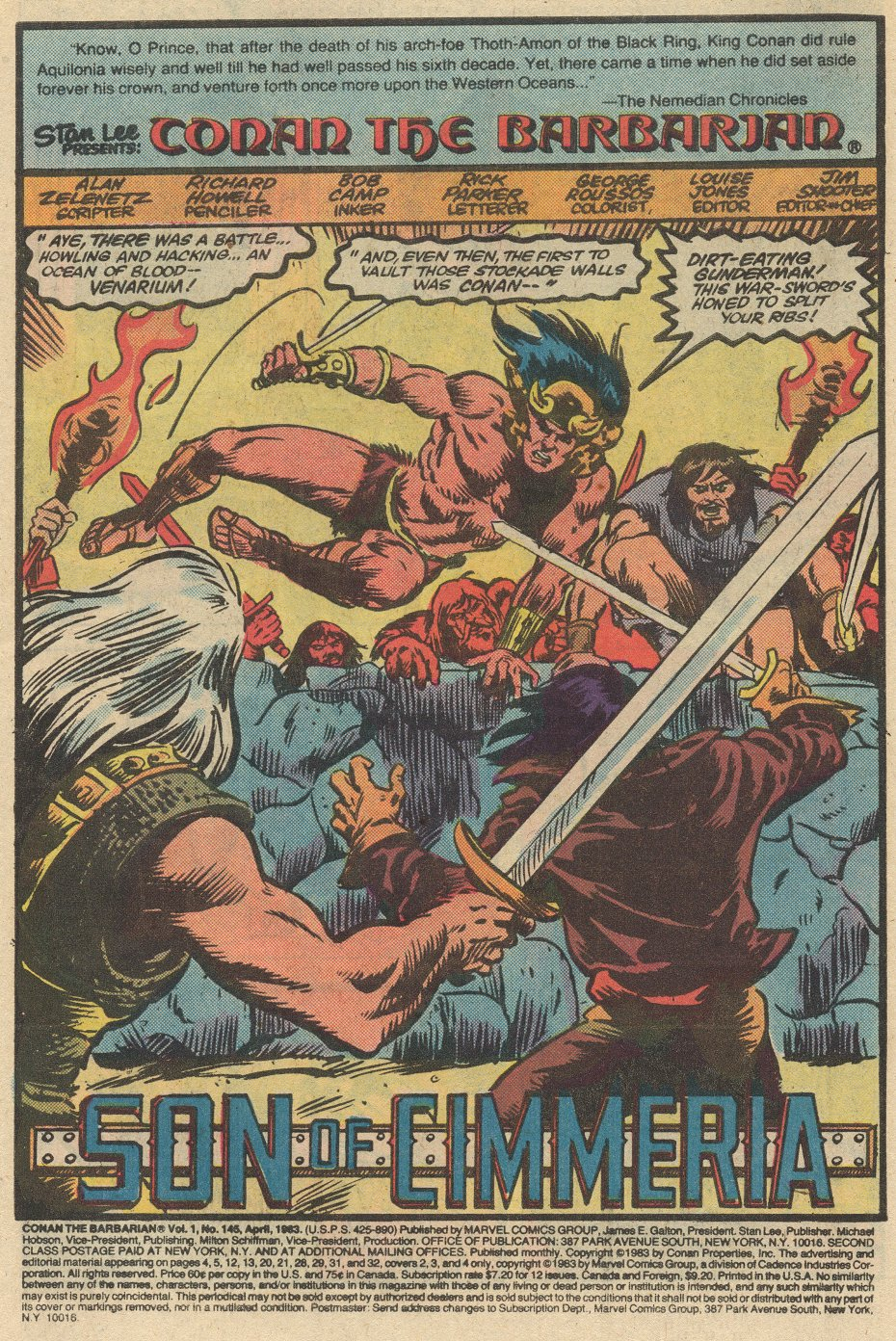 Conan the Barbarian (1970) Issue #145 #157 - English 2