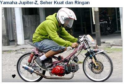 Motor drag Yamaha jupiter z