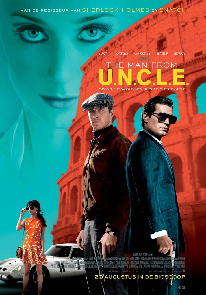 Póster: The Man From U.N.C.L.E.