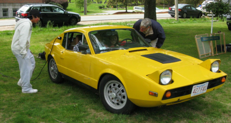 Daily Turismo 10k 1974 Saab Sonett Electric Conversion
