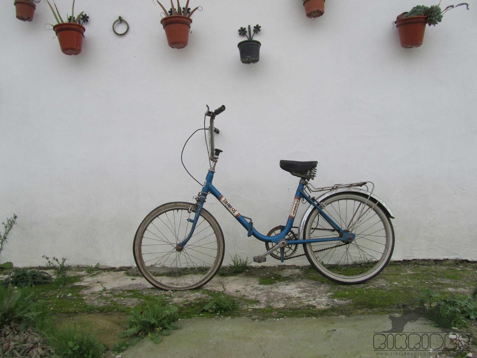 Nueva adquisici n torrot plegable rik rides for Bicicletas antiguas nuevas