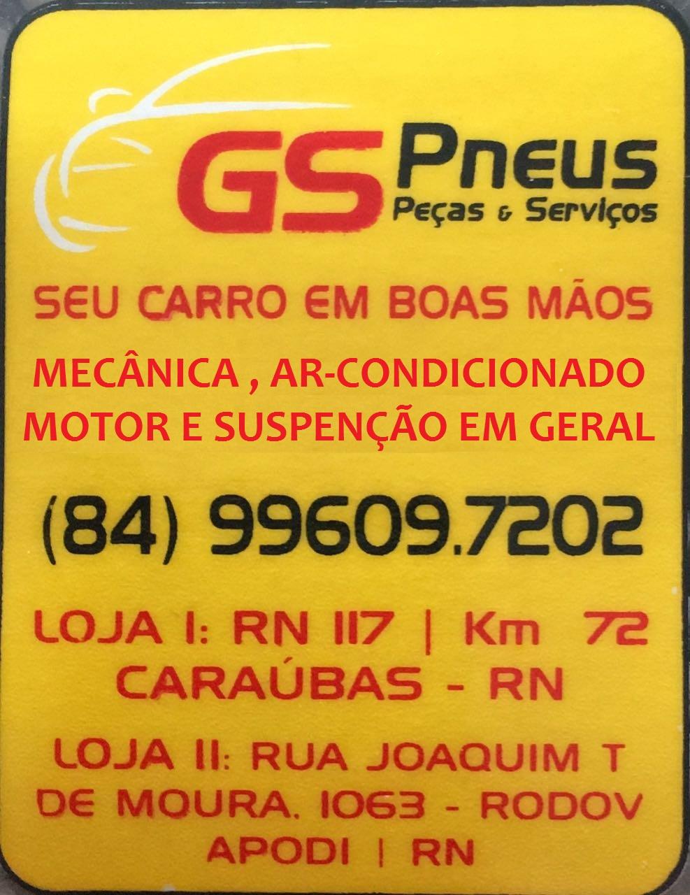GS PNEUS PEÇAS E SERVIÇOS