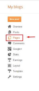 Membuat menu Sitemap di blogger/blogspot