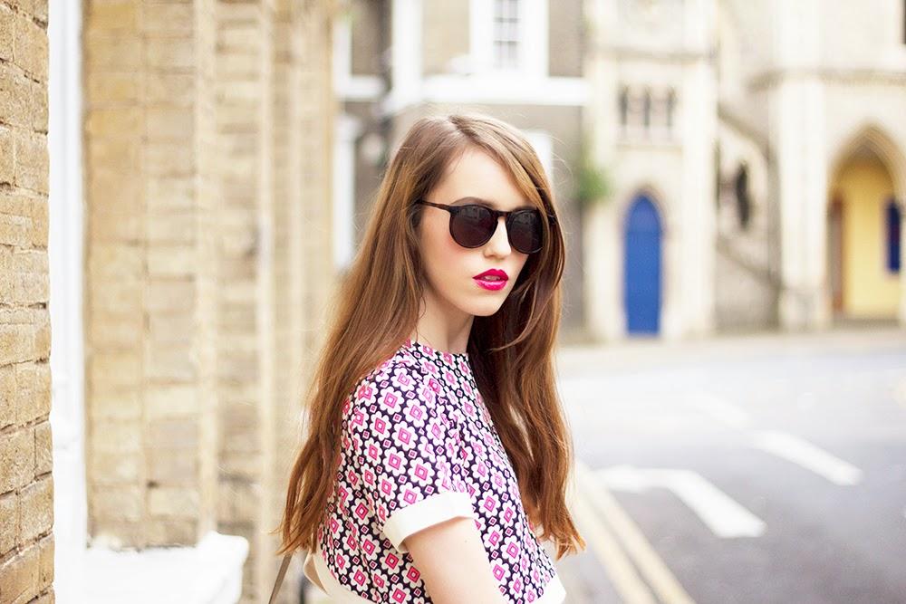 UK Fashion Blogger Emily Divine Pink Retro