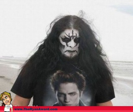 What it looks like when Kiss and Twilight are combined