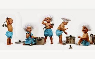 Gambar foto bayi-bayi lucu masak