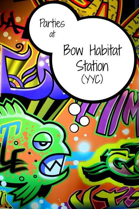 Birthday Parties at Bow Habitat Station in Calgary