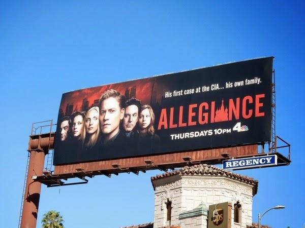 Allegiance series premiere billboard