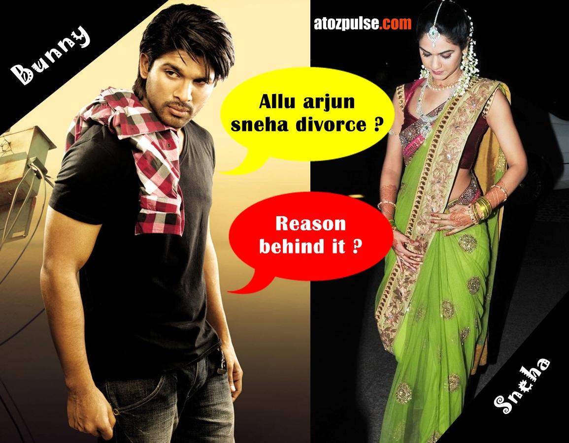 1x1.trans Allu arjun sneha reddy divorce? Reason behind it?