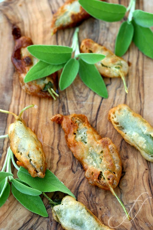 Italian Fried Sage with Anchovies Classic Recipe ...