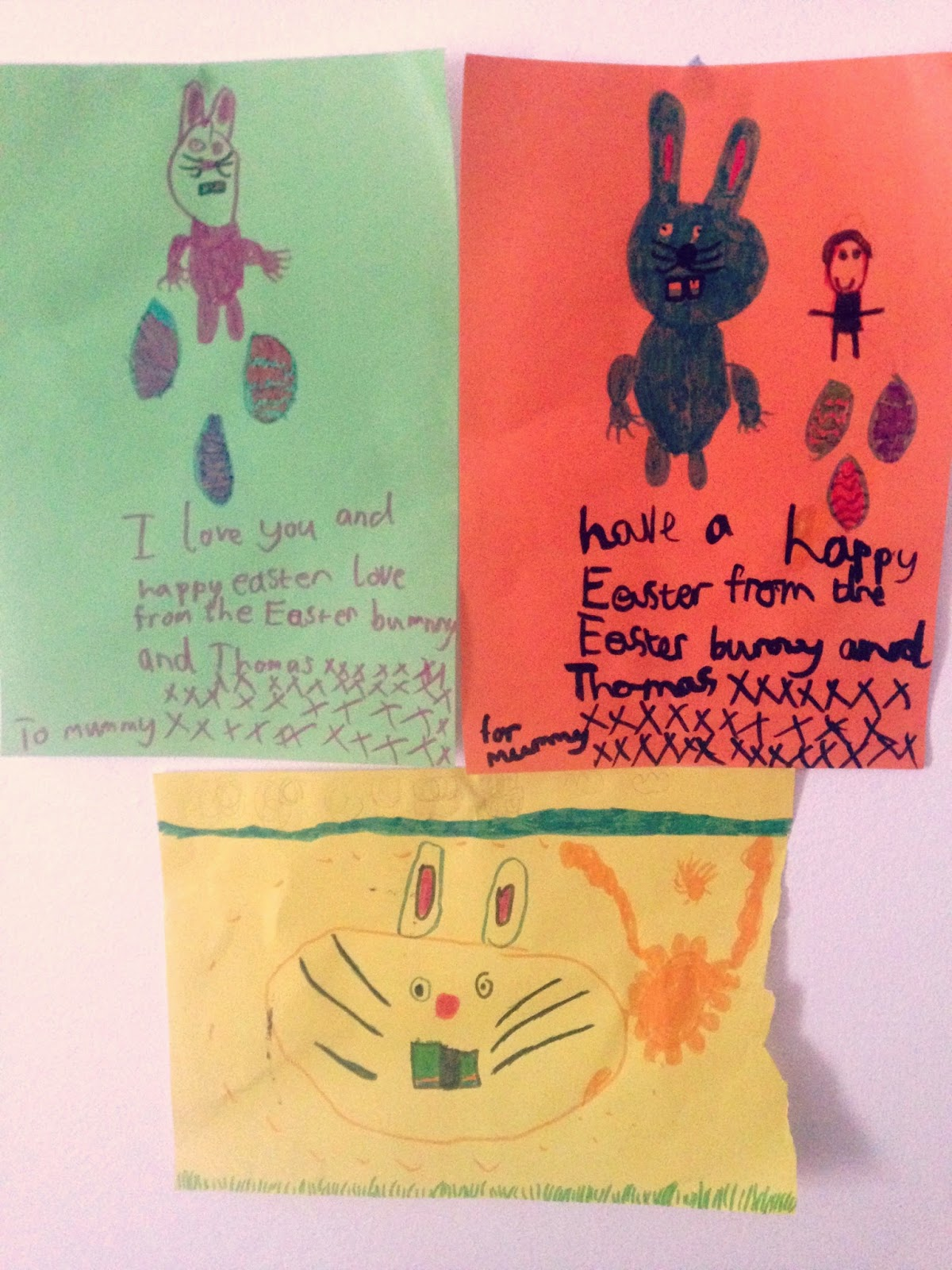 drawing, picture, art, zayn, easter, bunny, rabbit, eggs, children's art, happy, link up, blogger, parent,