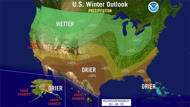 2014 2015 Winter Weather Predictions