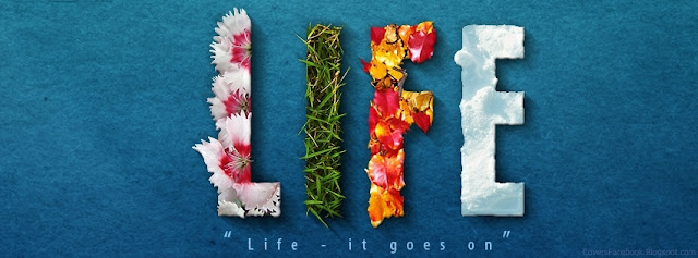 Life | Facebook Cover I lov3quotes.com