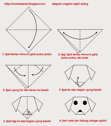 tutorial origami yg mudah