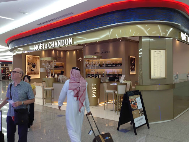 Dubai Airport Welcome Terminal 3 - 5