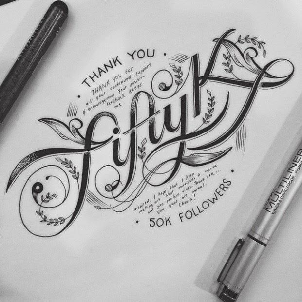 Impresionantes diseños tipográficos por Raul Alejandro