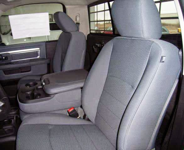 Dodge ram front seat cover split bench