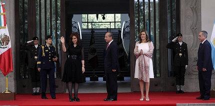 CFK RESALTÓ EL POTENCIAL DE LAS RELACIONES BILATERALES CON MÉXICO