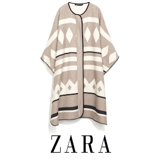 Crown Princess Mary ZARA Poncho Coat