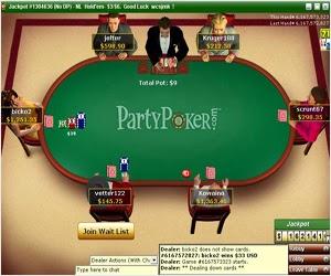 Partida poker online PartyPoker