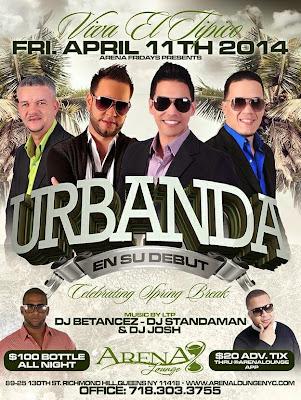 Urbanda - Arena Lounge