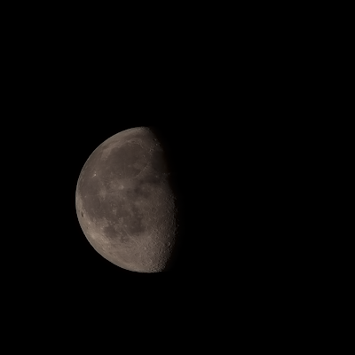 70% waning gibbous moon