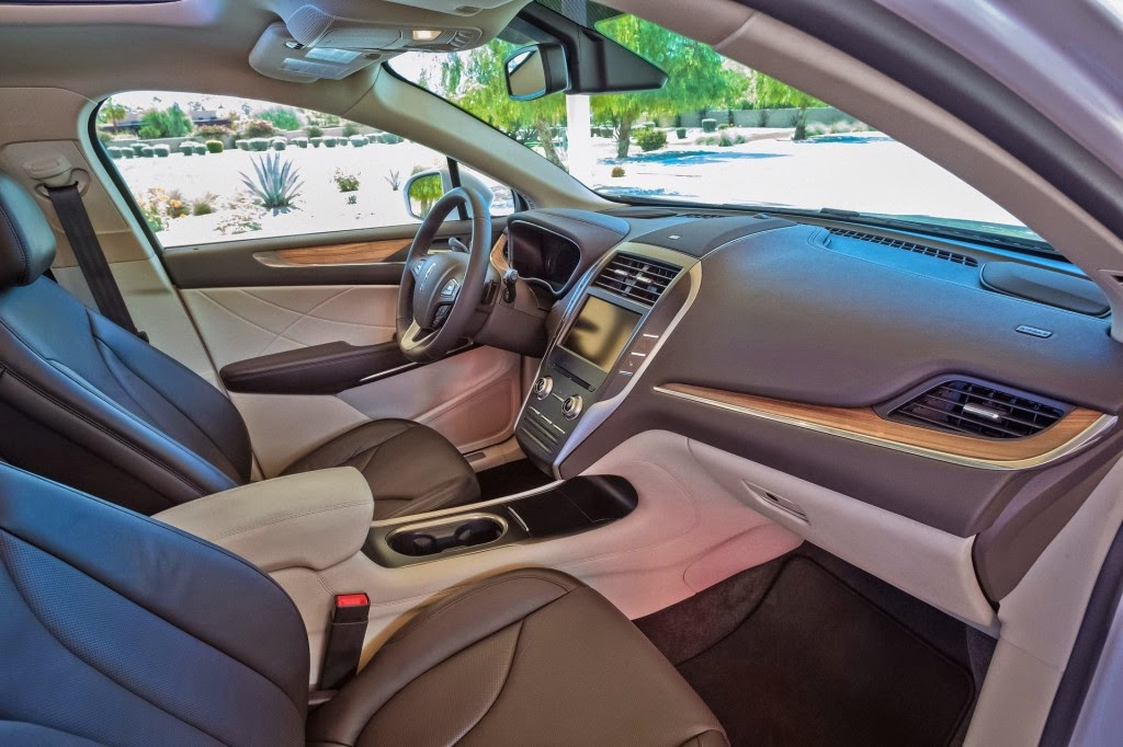 2015 Lincoln MKC Specialized Quiet Interior Technology
