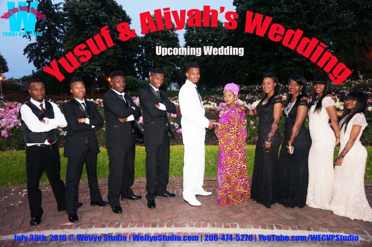 Aliya and Yusuf Wedding 2016 Portland, OR