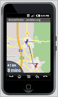 AndNav worldwide Navigation System