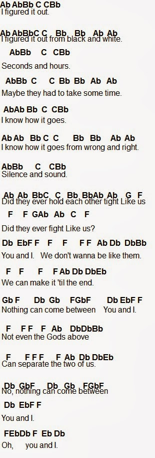 Flute Sheet Music: You and I