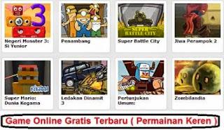 Game Online Gratis Terbaru ( Permainan Keren )